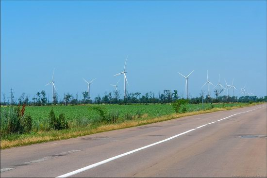 Wind Farm in Prymorsk in Southern Ukraine, photo 4