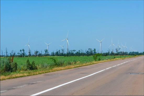 Wind Farm in Prymorsk in Southern Ukraine, photo 4