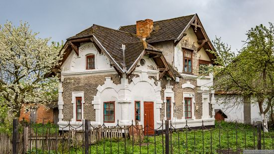 Picturesque Buildings of the Antoniny Palace, Khmelnytskyi Oblast, Ukraine, photo 1
