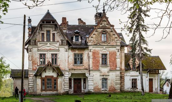 Picturesque Buildings of the Antoniny Palace, Khmelnytskyi Oblast, Ukraine, photo 15