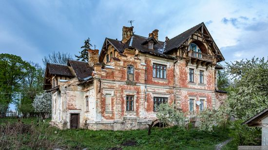 Picturesque Buildings of the Antoniny Palace, Khmelnytskyi Oblast, Ukraine, photo 17