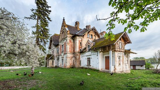 Picturesque Buildings of the Antoniny Palace, Khmelnytskyi Oblast, Ukraine, photo 18