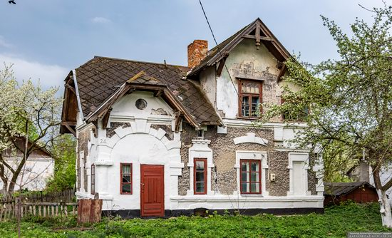 Picturesque Buildings of the Antoniny Palace, Khmelnytskyi Oblast, Ukraine, photo 2