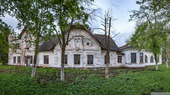 Picturesque Buildings of the Antoniny Palace, Khmelnytskyi Oblast, Ukraine, photo 22