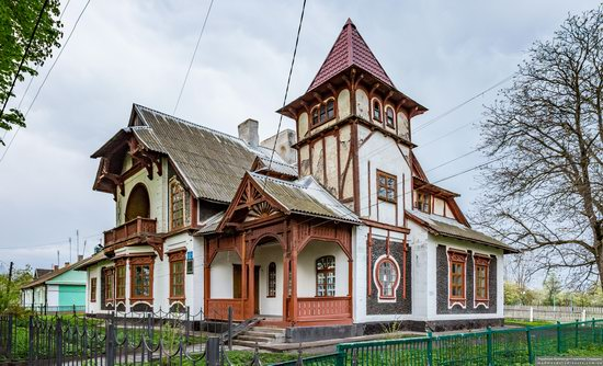 Picturesque Buildings of the Antoniny Palace, Khmelnytskyi Oblast, Ukraine, photo 8