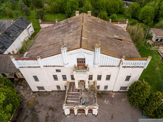 The Gizycki Palace in Novoselytsya, Khmelnytskyi Oblast, Ukraine, photo 15
