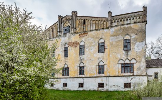 The Gizycki Palace in Novoselytsya, Khmelnytskyi Oblast, Ukraine, photo 8