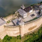 The Khotyn Fortress – the view from above