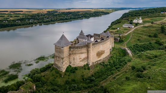 The Khotyn Fortress, Ukraine from above, photo 10