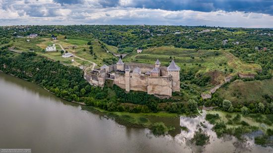 The Khotyn Fortress, Ukraine from above, photo 19