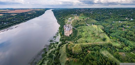 The Khotyn Fortress, Ukraine from above, photo 2