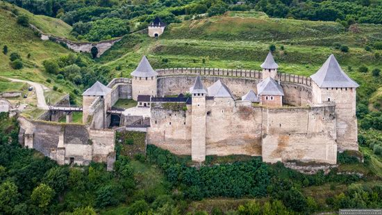 The Khotyn Fortress, Ukraine from above, photo 20