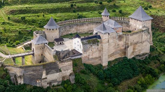 The Khotyn Fortress, Ukraine from above, photo 21