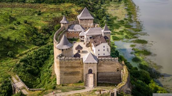 The Khotyn Fortress, Ukraine from above, photo 22