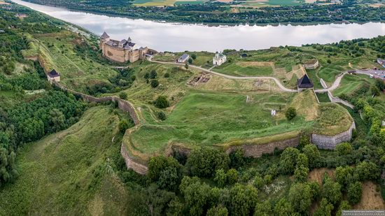 The Khotyn Fortress, Ukraine from above, photo 5