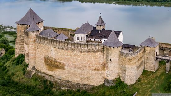 The Khotyn Fortress, Ukraine from above, photo 7