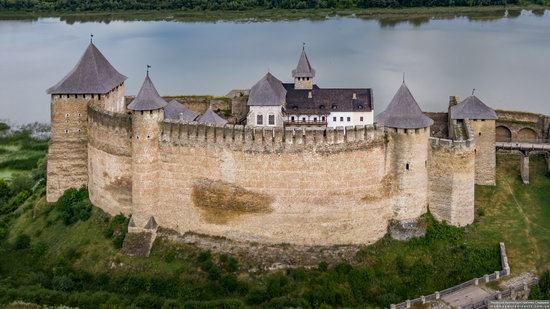The Khotyn Fortress, Ukraine from above, photo 8