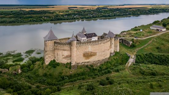 The Khotyn Fortress, Ukraine from above, photo 9