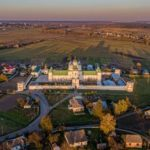 Holy Trinity Mezhyrich Monastery – the view from above