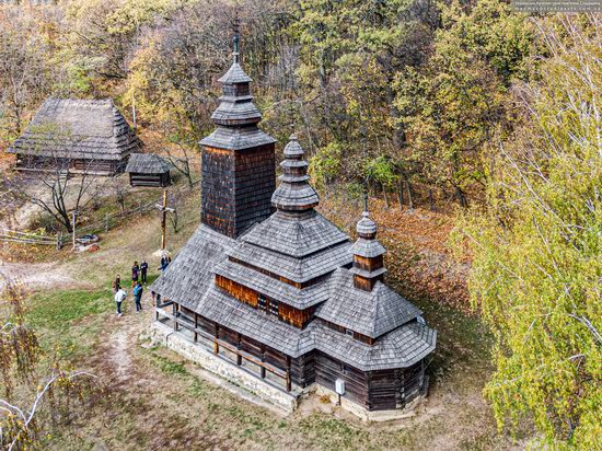 Church of the Intercession of the Holy Virgin in Pyrohiv, Kyiv, Ukraine, photo 9