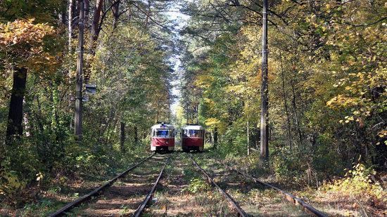Pushcha-Vodytsya - Kyiv - the Most Scenic Tram Line in Ukraine, photo 1