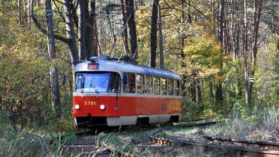 Pushcha-Vodytsya - Kyiv - the Most Scenic Tram Line in Ukraine, photo 2