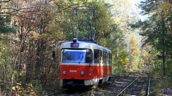 Pushcha-Vodytsya - Kyiv - the Most Scenic Tram Line in Ukraine, photo 3
