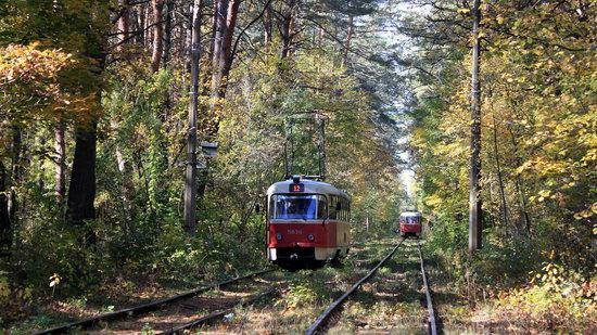 Pushcha-Vodytsya - Kyiv - the Most Scenic Tram Line in Ukraine, photo 4
