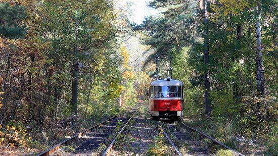 Pushcha-Vodytsya - Kyiv - the Most Scenic Tram Line in Ukraine, photo 6