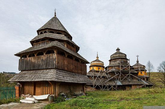Churches of St. Michael the Archangel in Isai, Lviv Oblast, Ukraine, photo 2