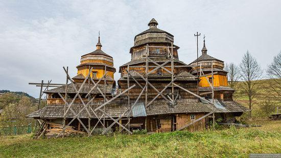 Churches of St. Michael the Archangel in Isai, Lviv Oblast, Ukraine, photo 3