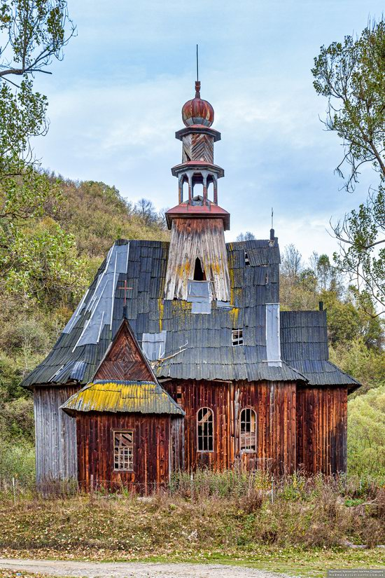 Wooden Catholic Chapel, Ilnyk, Lviv Oblast, Ukraine, photo 2
