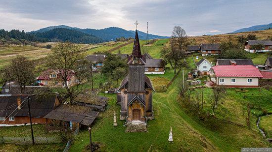 Wooden Neo-Gothic Church, Rozluch, Lviv Oblast, Ukraine, photo 1
