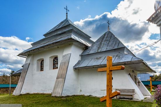 Fortified church in Rosokhy, Lviv Oblast, Ukraine, photo 11