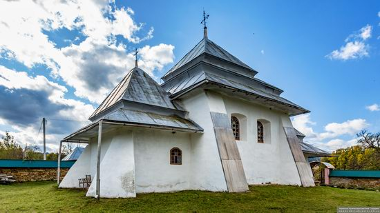 Fortified church in Rosokhy, Lviv Oblast, Ukraine, photo 12