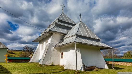 Fortified church in Rosokhy, Lviv Oblast, Ukraine, photo 13