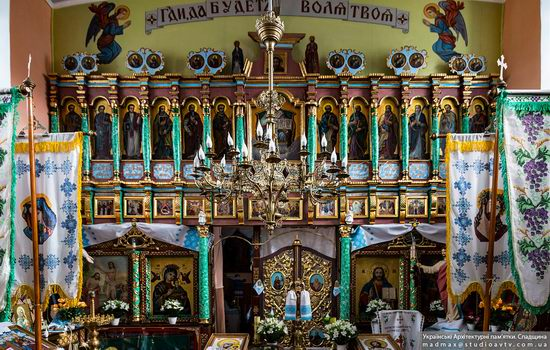 Fortified church in Rosokhy, Lviv Oblast, Ukraine, photo 14