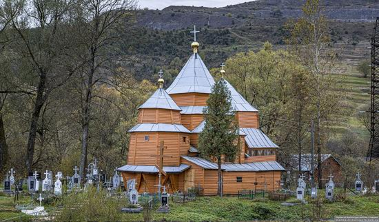 Church of St. Nicholas in Turka, Lviv Oblast, Ukraine, photo 1