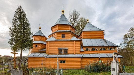 Church of St. Nicholas in Turka, Lviv Oblast, Ukraine, photo 5