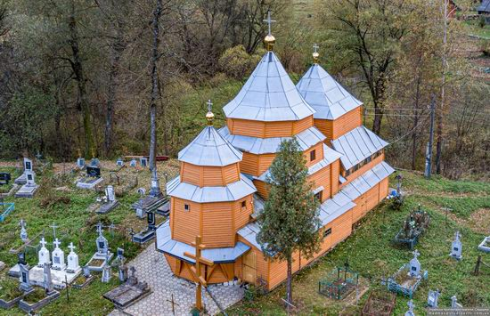 Church of St. Nicholas in Turka, Lviv Oblast, Ukraine, photo 6