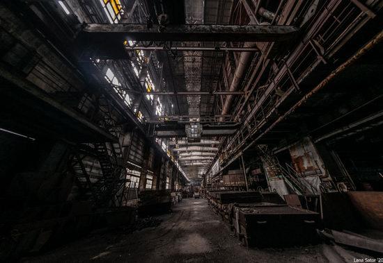 Zaporozhye Aluminium Combine, Ukraine - a Decaying Industrial Giant, photo 12