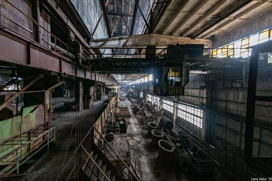 Zaporozhye Aluminium Combine, Ukraine - a Decaying Industrial Giant, photo 16