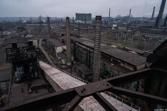 Zaporozhye Aluminium Combine, Ukraine - a Decaying Industrial Giant, photo 2