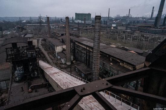 Zaporozhye Aluminium Combine, Ukraine - a Decaying Industrial Giant, photo 2