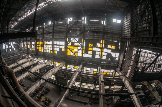 Zaporozhye Aluminium Combine, Ukraine - a Decaying Industrial Giant, photo 20