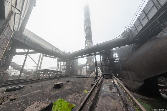 Zaporozhye Aluminium Combine, Ukraine - a Decaying Industrial Giant, photo 24