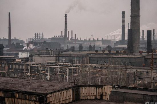 Zaporozhye Aluminium Combine, Ukraine - a Decaying Industrial Giant, photo 3