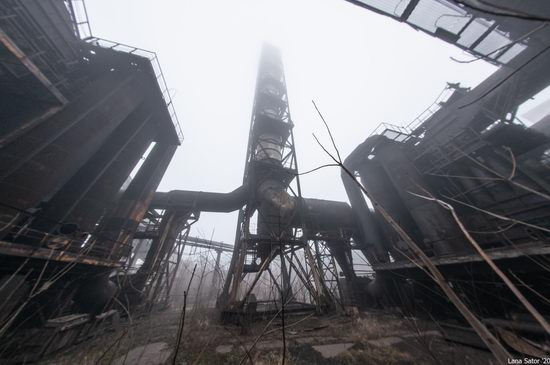 Zaporozhye Aluminium Combine, Ukraine - a Decaying Industrial Giant, photo 6