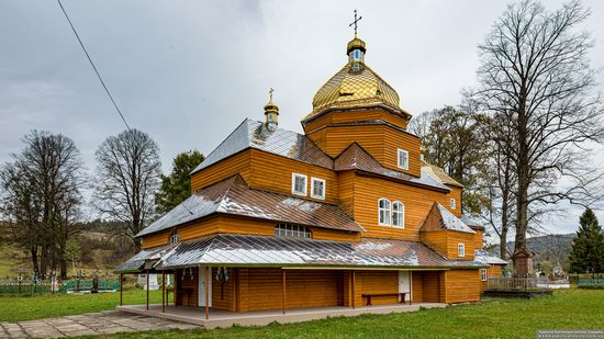Church of the Assumption of the Holy Virgin in Topilnytsya, Lviv Oblast, Ukraine, photo 1
