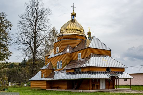 Church of the Assumption of the Holy Virgin in Topilnytsya, Lviv Oblast, Ukraine, photo 4
